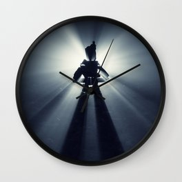 Fog of the North Wall Clock