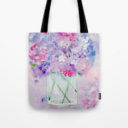 Vase of Wildflowers Tote Bag