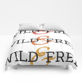 Wild and Free Fade Comforters