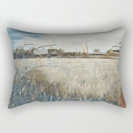 """The Farm"" Rectangular Pillow"