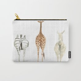 Cute animal butts Carry-All Pouch