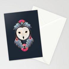 Owl 1 - Dark Stationery Cards