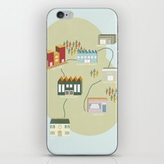 City Travels iPhone & iPod Skin
