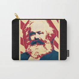 Karl Marx Retro Propaganda Carry-All Pouch