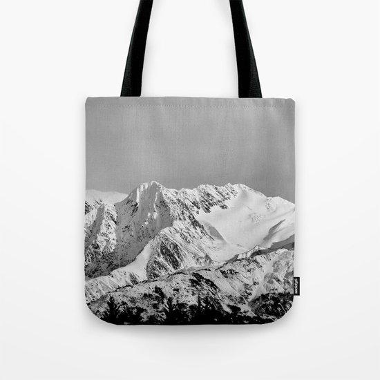 Mountain Glacier Two Tote Bag
