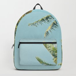 Kenolio Beach Hawaiian Coconut Palm Trees Kīhei Maui Hawaii Backpack