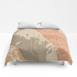 Vintage Lake Winnipeg Geological Map (1899) Comforters