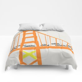 Golden Gate Bridge Comforters