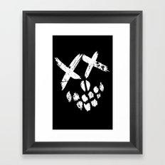 Supervillains Framed Art Print
