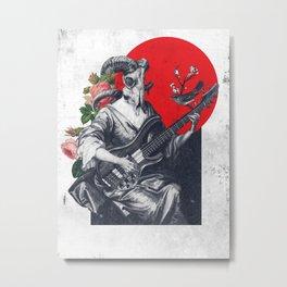 Royal Pose Metal Print