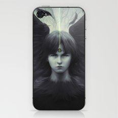 Eye of Raven iPhone & iPod Skin