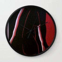Retro Woman Wall Clock