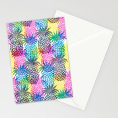 Pineapple CMYK Repeat Stationery Cards
