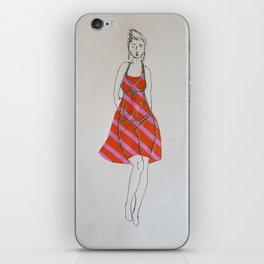 Is My Body Not Enough - Khrysty iPhone Skin