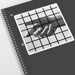 Caged Hand 3 Sticker