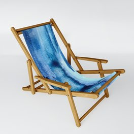 Deep Lapis Sling Chair