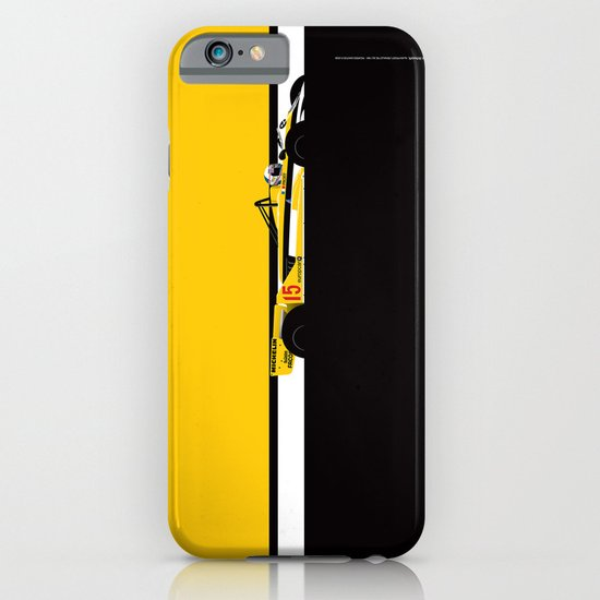 Alain Prost, Renault RE30, 1981 iPhone & iPod Case