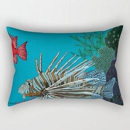 Scorpion & Bigeye fishes Rectangular Pillow
