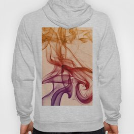 Smoke composition in pastel tones Hoody