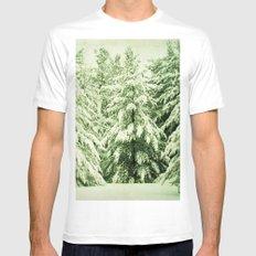 Evergreen Mens Fitted Tee White MEDIUM