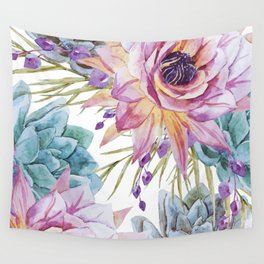 FLOWERS WATERCOLOR 19 Wall Tapestry