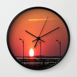 Sunset 3 Wall Clock