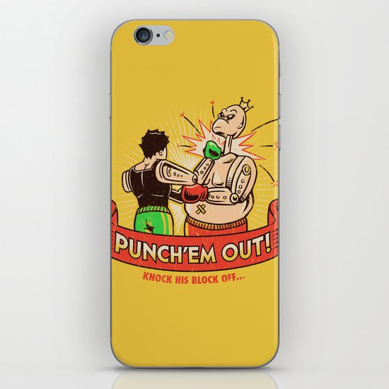 Punch'em Out iPhone & iPod Skin