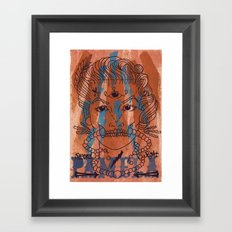 Pamela Skulz and her 'second sight' Framed Art Print