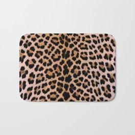 Cheetah Pattern Bath Mat