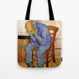 At Eternity's Gate by Vincent van Gogh Tote Bag