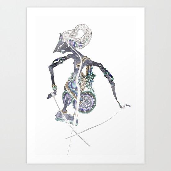 SHADOW PUPPET Art Print