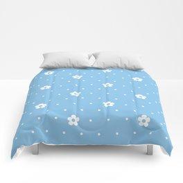 Delicate Flower Pattern Comforters