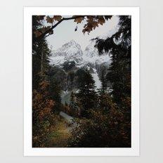 Cascade River Rd Art Print