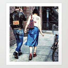 Marilyn Girl Art Print