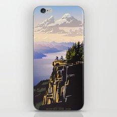 Retro travel BC poster iPhone & iPod Skin