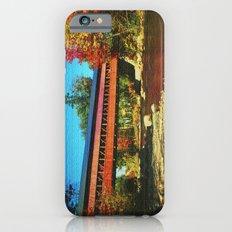Call bridge on burlap iPhone 6s Slim Case