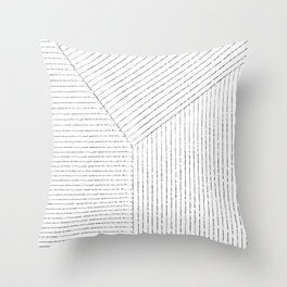 Lines Art Throw Pillow