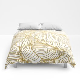 Wilderness Gold Comforters