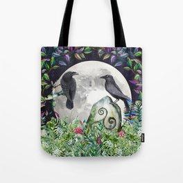 Raven Moon Magick Tote Bag
