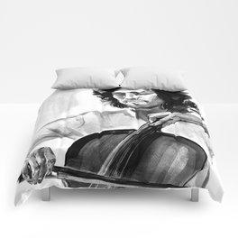 Cellist #2 Comforters