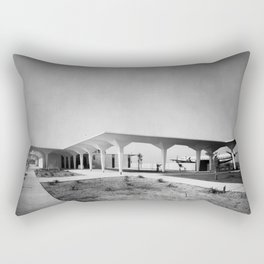 Orange County Airport 1967 Rectangular Pillow