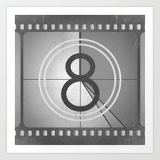 Countdown Film Art Print