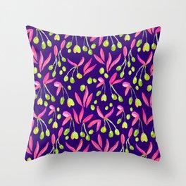 Olives Season Design // Watercolour Collection // Pattern Throw Pillow
