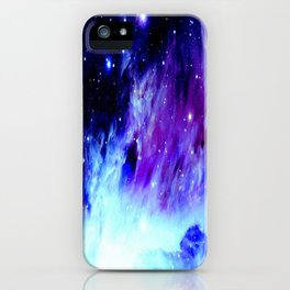 NebUla. Purple Blue iPhone Case