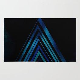 Blue Arrow Rug