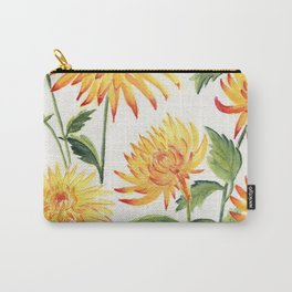 Dahlia Flowers 1 Carry-All Pouch