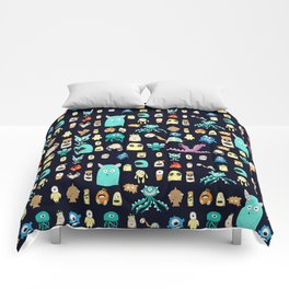 Little Monsters 2 Comforters