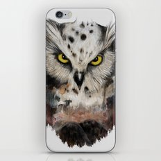 The owls are not what they seem iPhone & iPod Skin