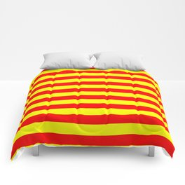 china kyrgyzstan spain flag stripes Comforters
