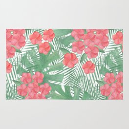 Tropical pattern.4 Rug